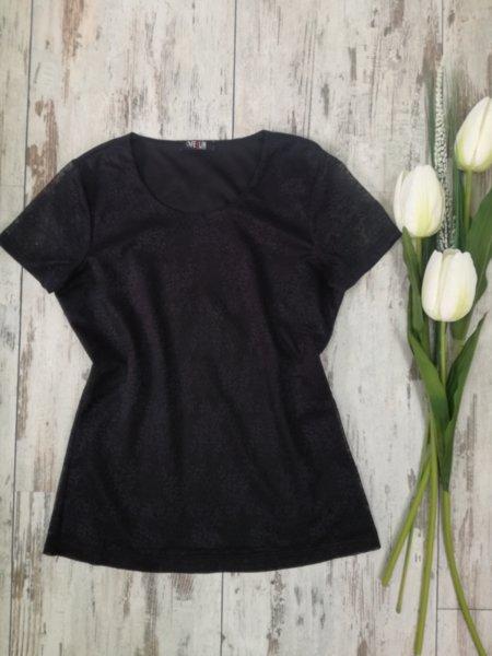 Дантелена блуза- Arcane в черно